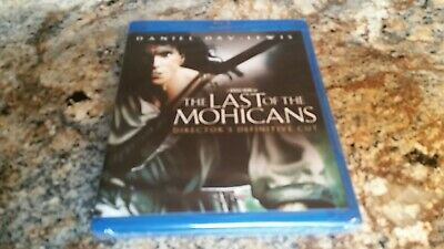 The Last of the Mohicans (Director's Definitive Cut) NEW Blu-Ray