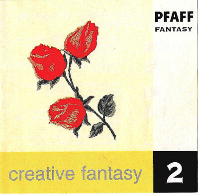 VARIETY #2 Creative Fantasy Embroidery Memory Card for Pfaff 7560-70 & 2140-70