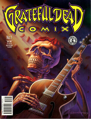 Grateful Dead Comix ~ Volume 1 ~ Issue 1~ Brand New Condition~Kitchen Sink Press