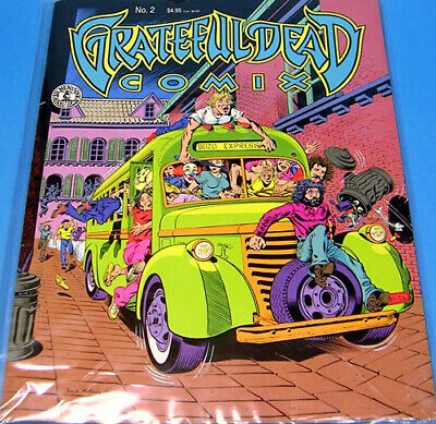 Grateful Dead Comix ~ Volume 1~ Issue 2 ~ Brand New Condition~Kitchen Sink Press