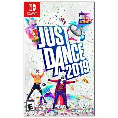 Just Dance 2019 Nintendo Switch 2018 Brand NEW Sealed