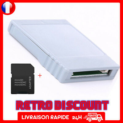 SD gecko adaptateur carte sd media launcher compatible gamecube wii