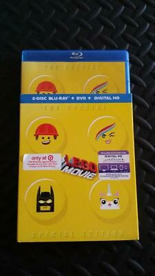 The LEGO Movie (Blu-ray/DVD, 2014, 2-Disc Set) **Case Slipcover Only**