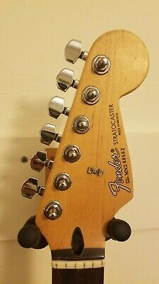 1992 1993 Fender Stratocaster Maple Rosewood Neck MIM loaded Mexico Mexican tele