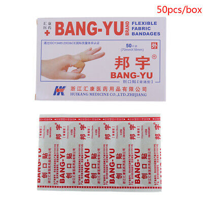 Skin Care Sincere 50pcs Disposable Waterproof Adhesive Bandage First Aid Breathable First Aid Kit Medical Hemostatic Stickers Kids Children Adult Mother & Kids