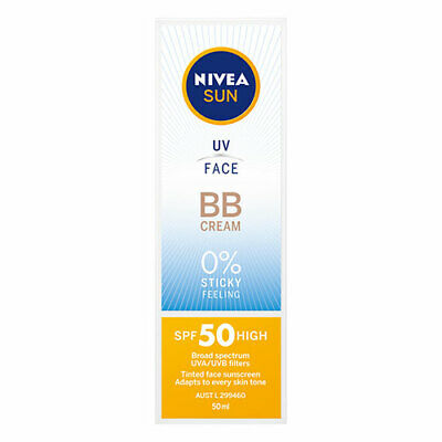 NEW Nivea Sun UV Face BB Cream SPF50 - 50mL