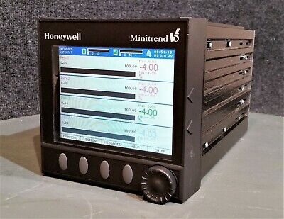 Honeywell Minitrend V5 Data Recorder + Sandisk Card Adapter; 64Mb Compactflash