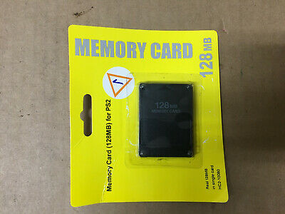 Playstation 2 PS2 128MB Memory Card ** BRAND NEW **