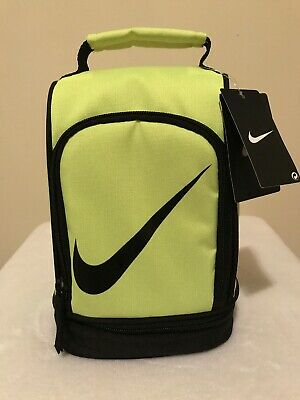 8ef75e485be5 Nike lunch box tote school bag for boys girls 2 compartments insulated  GreenVolt