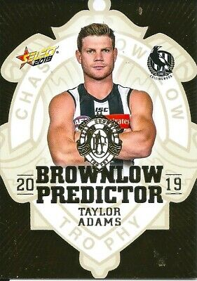 2019 select footy stars Brownlow predictor gold card you choose your card