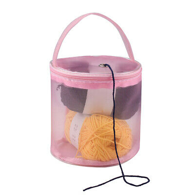 DIY Knitting Tool Crochet Storage Bag Mesh Wool Yarn Storage Bag Porteble Craft
