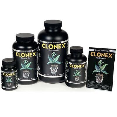 Clonex Rooting Gel For Clones Propagation Stems Cuttings 15ml 100ml 250ml Pint