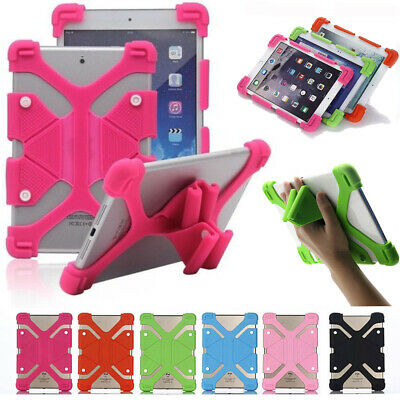 """Silicone Kids Shockproof Stand Case Cover For Lenovo Tab E7 E10 7"""" 10.1"""" Tablet"""