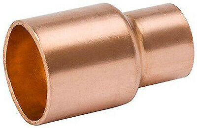 B&K LLC 1/2 x 3/8-Inch Wrot Copper Coupling With Stop W 61023