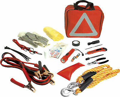 WILMAR CORPORATION Emergency Roadside Assistance Kit, 49-Pc. W1555