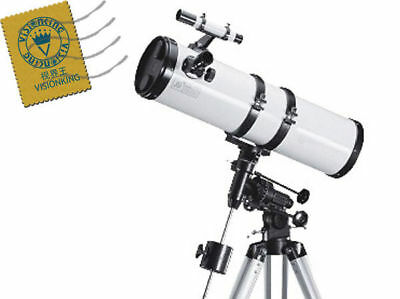 Visionking 6 inches 150 - 750 mm EQ Reflector Astronomical Telescope Space