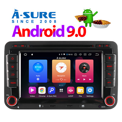 Android 8.1 GPS CD DVD DAB+ Navi Autoradio für VW GOLF 5 6Plus TOURAN PASSAT B6