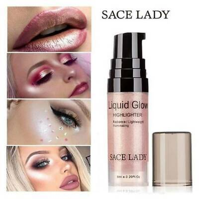 SACE LADY  3 Color Shimmer Liquid Highlighter Contour Cream for Face Eye Makeup