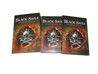 Black Sails:The Complete Series Season 1-4 DVD Sets free Shipping from USA