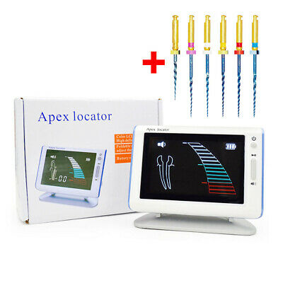 Dental LCD Endo Root Canal Apex Locator Endodontic Finder DTE DPEX III +6 Files