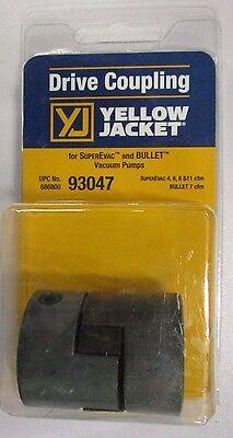 Yellow Jacket Drive Coupling For 4, 6, 8 & 11 Cfm Vacuum Pumps - 93047