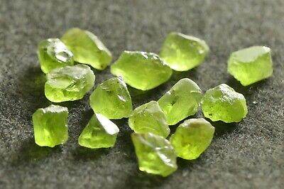 PERIDOT 89.7ct FACET GRADE ROUGH  #2317