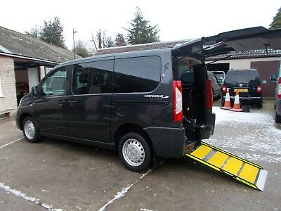 Wheelchair Car Disabled Car Wav Accessible 2015 Peugeot Expert Tepee 5 Seats