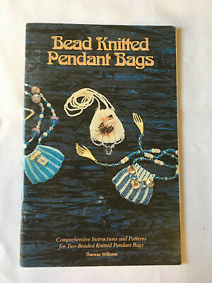Bead Knitted Pendant Bags. instruction & pattern book, multiple designs.