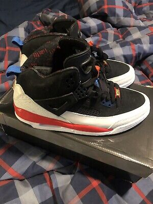 san francisco aee18 76e44 NIKE AIR JORDAN SPIZIKE WHITE BLACK INFRARED 315371-002 Men s Size 10 VI  Retro