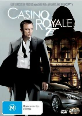 Casino Royale DVD Movie JAMES BOND 007 2DISC Daniel Craig Eva Green BRAND NEW R4