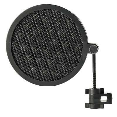 Double Layer Studio Microphone Mic Wind Screen Mask Recording Windproof Stand