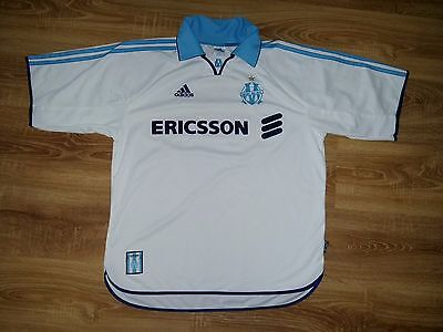 Olympique Marseille 1999 - 2000 home shirt size L