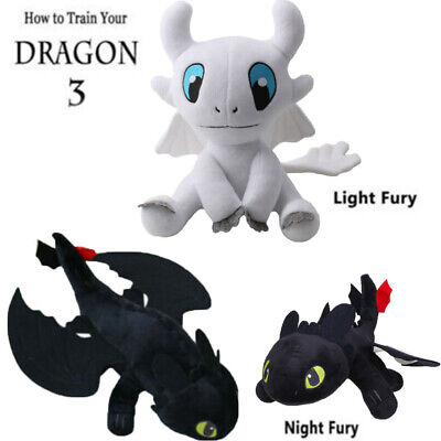 How To Train Your Dragon Night Fury Plush Toothless Stuffed Animal Doll Toy Gift