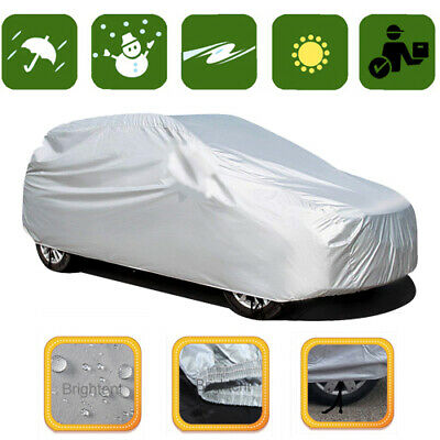 Waterproof Car Cover Outdoor Indoor UV Dust Protection Universal Storage CCH0S