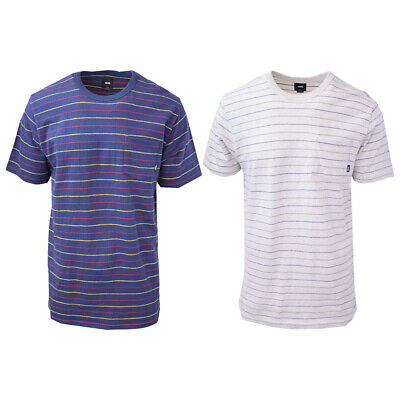 Vans Off The Wall Men's Striped Strikemont III Tee S09 (Retail $34)