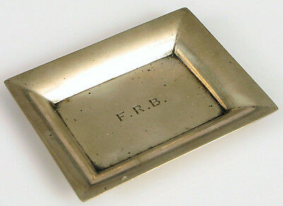 Vintage Signed Tiffany & Co Makers Sterling Silver 20958 Ash Tray Small Dish !