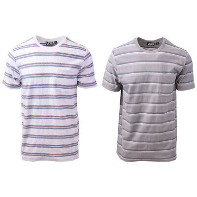 Vans Off The Wall Men's Pastel Striped Tee S03 (Retail $34)