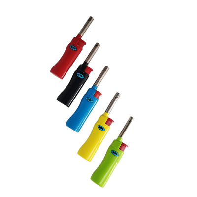 5 Pack Multi Purpose Electro Refillable Lighter Grill Candle BBQ