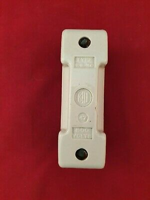 Bill EE30 Ceramic Porcelain BS88 Fuse Carrier / Holder For TIA Fuses
