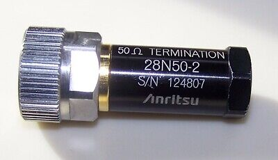 Clean and fully tested Anritsu 28N50-2 Precision N male DC-18GHz Broadband Load!