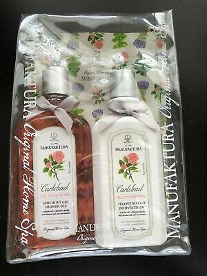 Manufaktura Carlsbad Regeneration Shower Gel and Body Lotion Gift Set