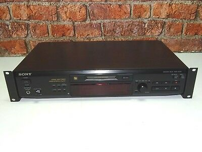 Sony MDS-JE530 Standard Size Rack Mount Fitted MiniDisc Recorder & Player (One)