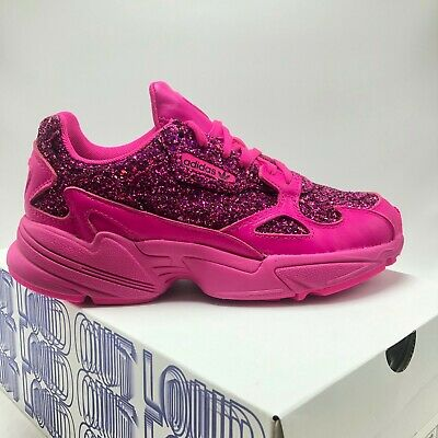 super popular 32b2e 418c6 WOMENS Adidas Originals Falcon Shock Pink Shoes BD8077, Sz 5.5-10