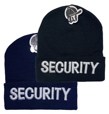 "Embroidered ""SECURITY""  Adjustable Baseball Cap Hats LOT Buy 3 get 1 free"