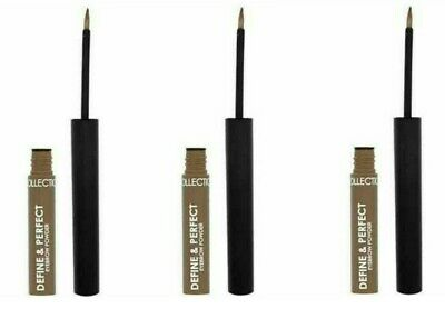 (PACK OF 3) COLLECTION Define & Perfect Eyebrow Powder BLONDE 1 NEW/SEALED 1.2g