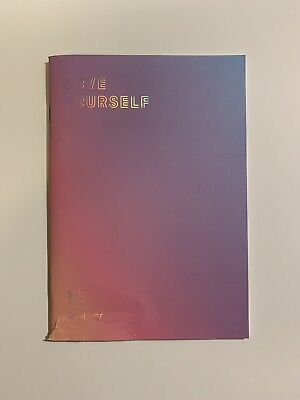 Official BTS Love Yourself 結Answer Notebook [BigHit Shop Pre-Order Gift]
