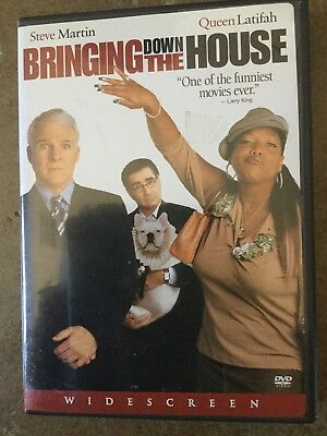 Bringing Down The House DVD w/Steve Martin & Queen Latifah**VERY GOOD CONDITION*