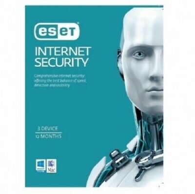 Eset Internet Security 3 PC 1 Year - Email Code