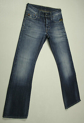 G-Star Jeans 'HELLER LOW BOOT' Size W27 L30 Medium Aged EUC RRP$289 Mens or Boys