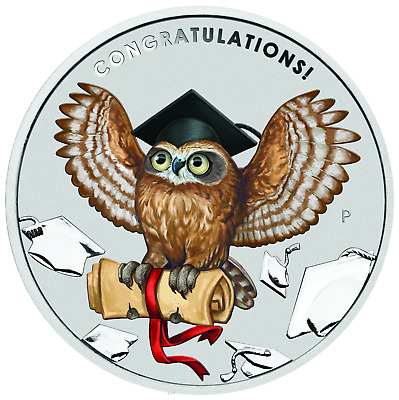 2019 Graduation Celebrates 1oz .9999 SILVER $1 PROOF COIN Perfect Gift